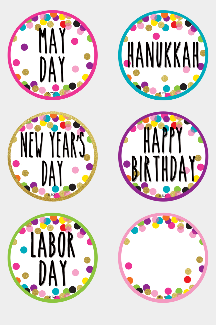 groundhogs day clipart, Cartoons - Confetti Holidays And Special Events Calendar Days - Circle
