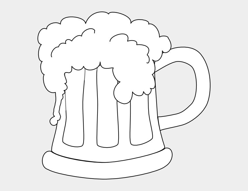 mug of beer clipart, Cartoons - Beer Mug Png - Beer Black And White