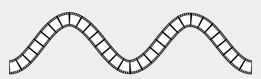 filmstrip clipart, Cartoons - This Free Icons Png Design Of Film Strip Wavy - Celtic Band Tattoo Stencil