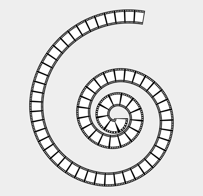 filmstrip clipart, Cartoons - Filmstrip Film Frame Decorative Borders - Film Strip Circle Png