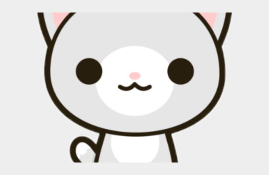cat nose clipart, Cartoons - Cat Clipart Kawaii - Sticker Kawaii Png