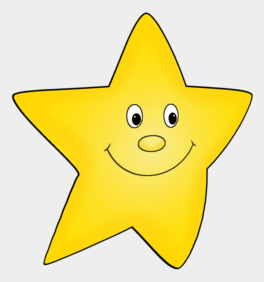 western star clipart, Cartoons - Cartoon Star Clip Art - Happy Face Star Clip Art
