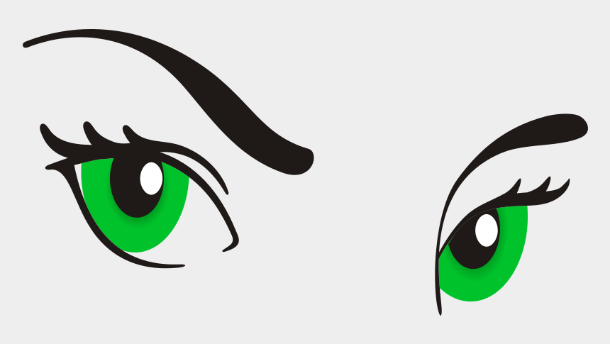 clipart of eyes, Cartoons - Eyeball Clipart Woman Eye - Girl Eyes Cartoon Png