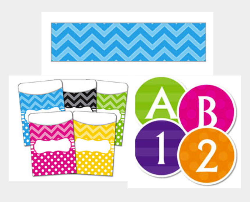 chevron letters clipart, Cartoons - First I Made Little Containers For My Classroom - White Letters In Black Circles