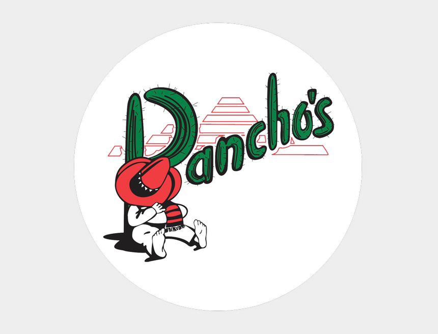 mexican poncho clipart, Cartoons - Pancho's Mexican Restaurant And Catering - Graphic Design