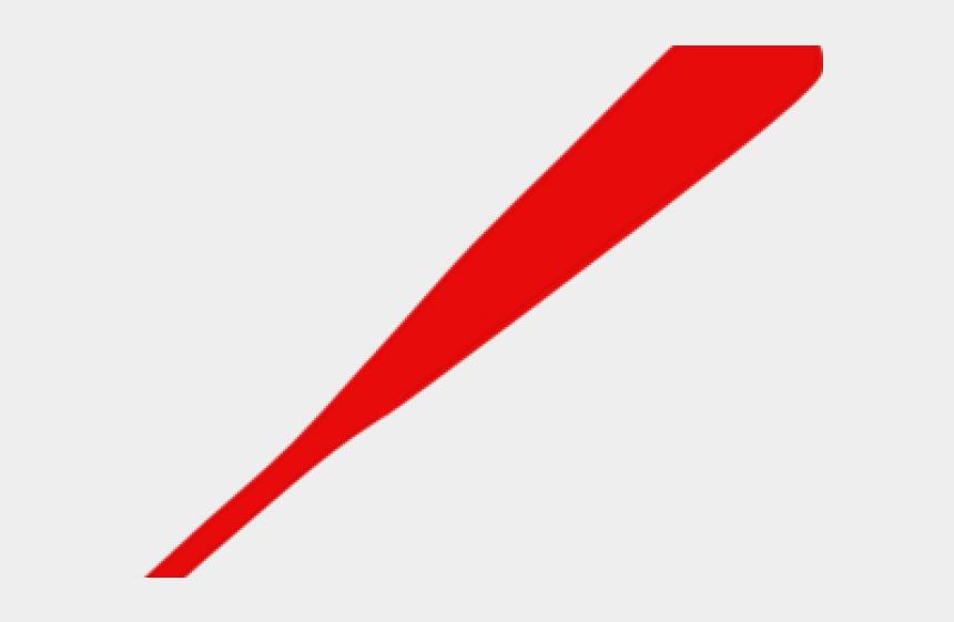 baseball bats clipart, Cartoons - Red Color Pencil Png