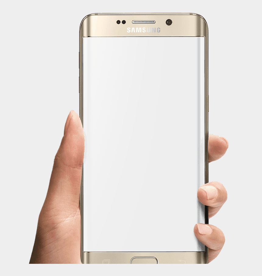 Phone In Hand - Mobile Frame Hand Png, Cliparts & Cartoons