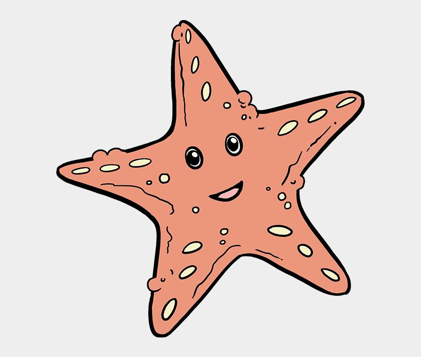 blue starfish clipart, Cartoons - Drawing Starfish Underwater - Sea Star Drawing Easy