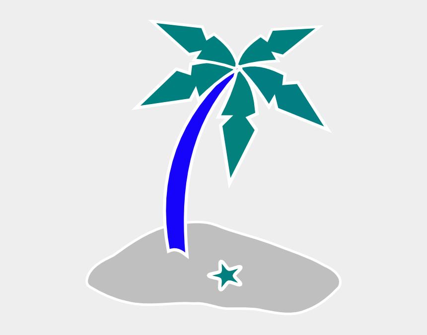 shore clipart, Cartoons - Palm Tree Beach Clipart