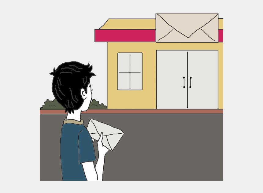 post office building clipart, Cartoons - Post Office Dream Meaning - Cartoon