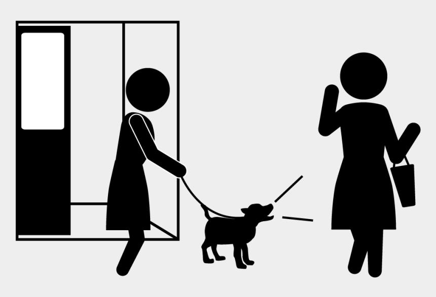 Please Do Not Bark Uselessly - Illustration , Transparent Cartoon - Jing.fm