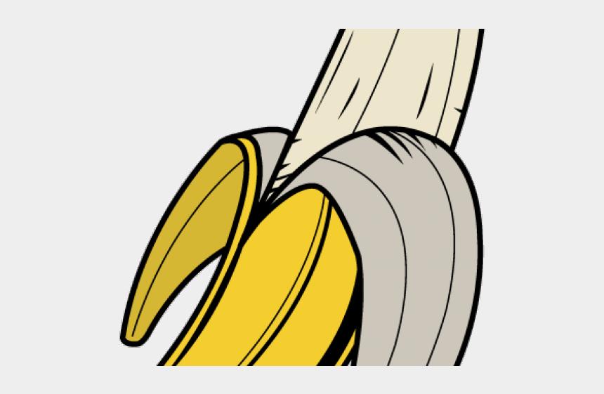 peeled banana clipart, Cartoons - Banana Clipart