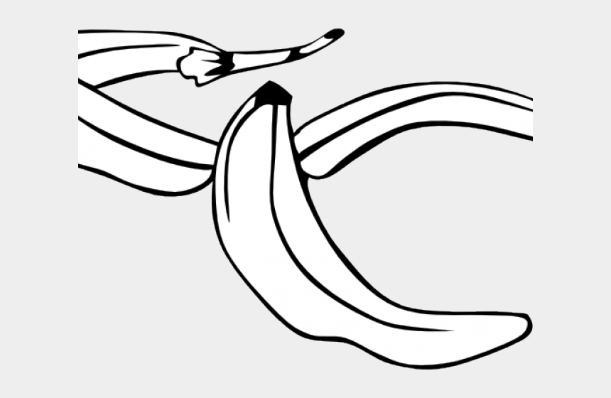 peeled banana clipart, Cartoons - Banana Peel Clipart Png