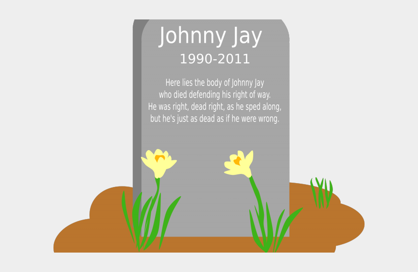 dead body clipart, Cartoons - Headstone Clipart Monument - Gravestone With Flowers Clipart