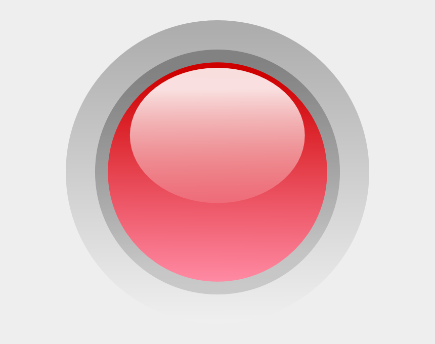 red circle clipart, Cartoons - Led Green Red Icon