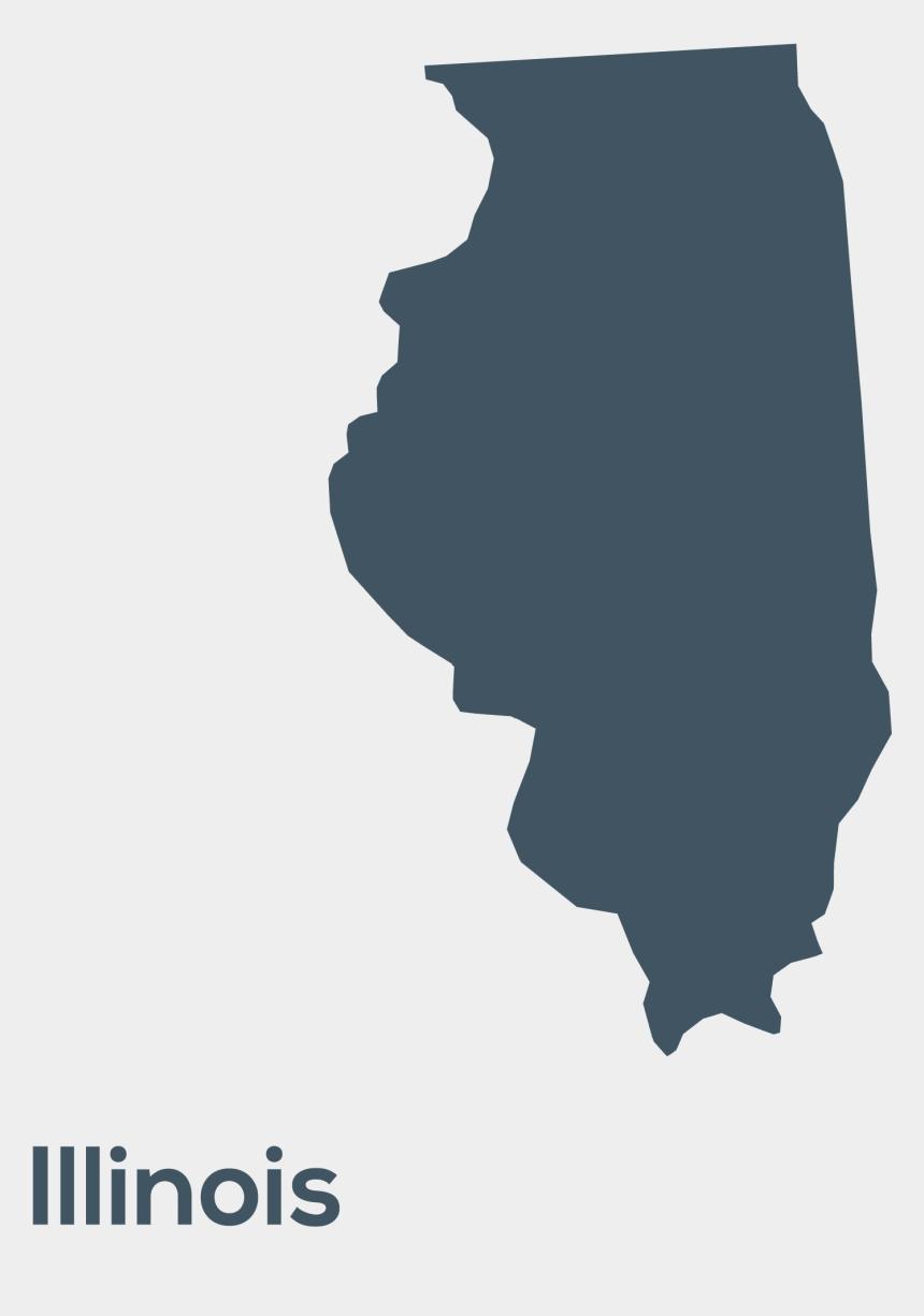 illinois clipart, Cartoons - U - S - States - Shapes And Names - Illinois - Clipart - State Illinois