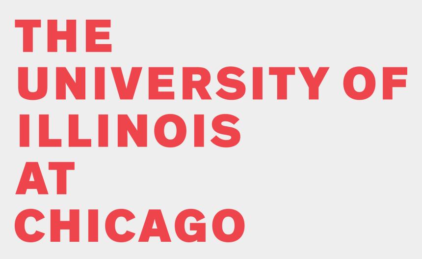 illinois clipart, Cartoons - Uic Logo University Of Illinois At Chicago Png - University Of Illinois At Chicago Logo