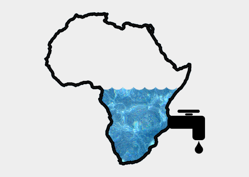 racism clipart, Cartoons - Cape Town Water Crisis - Africa Map Clip Art