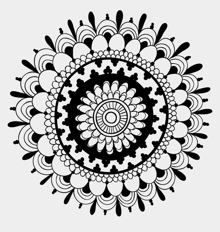 henna clipart, Cartoons - Henna Tattoo Png - Psychedelic Mandala Tattoo Design