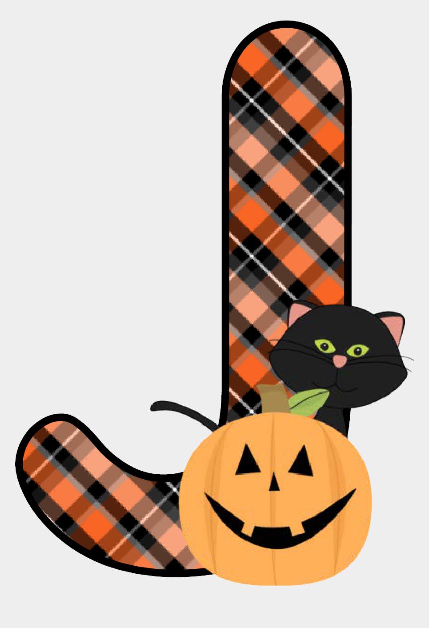 plaid clipart, Cartoons - Plaid Halloween J - Letter Of Alphabet Halloween Theme