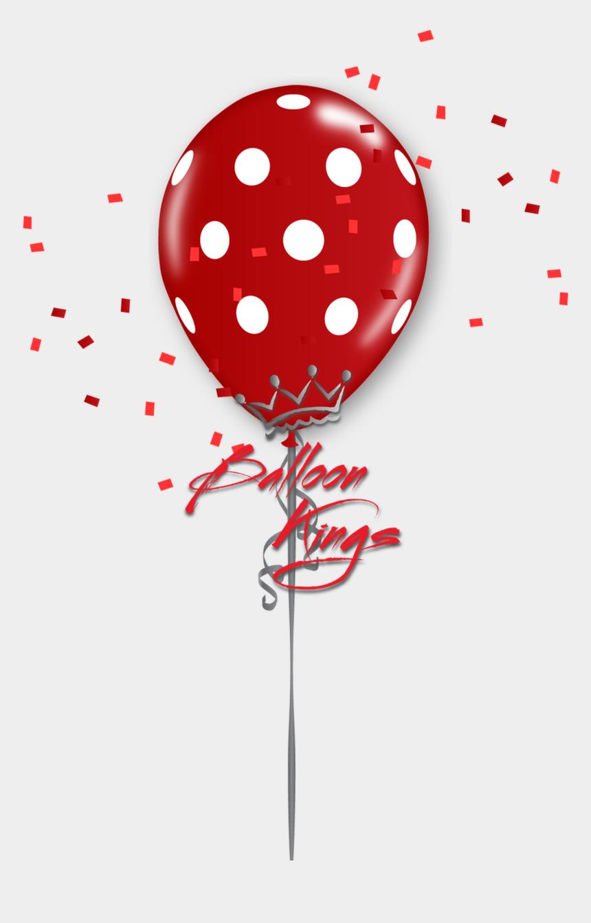 polka dot clipart, Cartoons - 11in Red Polka Dots - Polka Dots Balloon Clipart Png