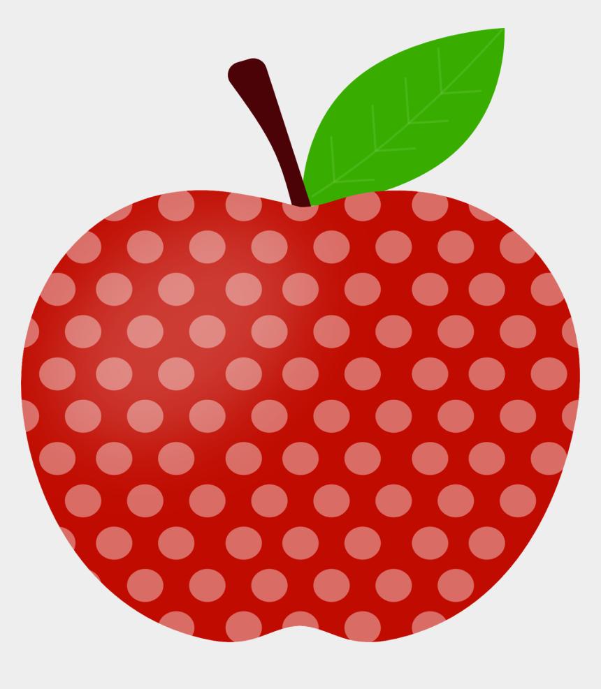 polka dot clipart, Cartoons - Clipart Apple Polka Dot - Apple
