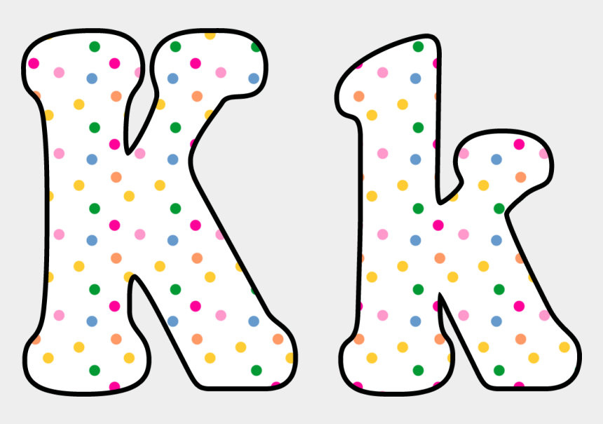 polka dot clipart, Cartoons - Letters Clipart Polka Dot - Polka Dot