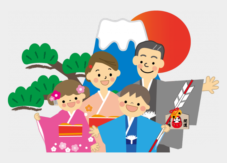 new years day clipart, Cartoons - Japanese New Year Decorations - Japan New Year Png