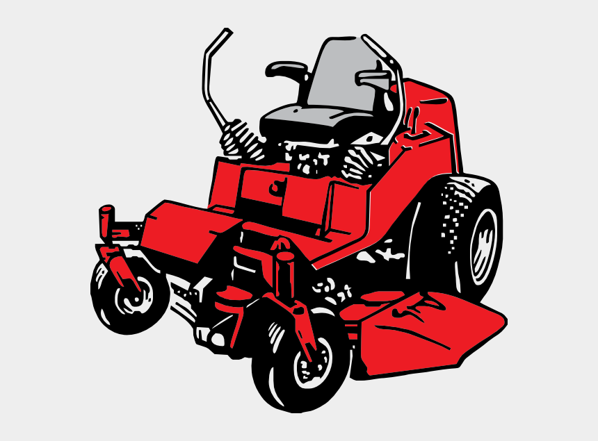 zero clipart, Cartoons - Zero Turn Mower Clip Art - Riding Lawn Mower Clip Art
