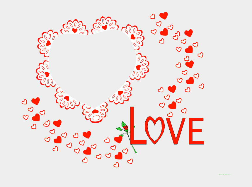 new years day clipart, Cartoons - Valentine's Day Individual Clip Art Download Png - Valentines Day Digital Frame