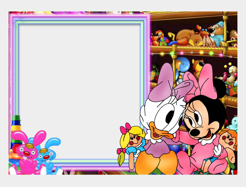 mickey mouse clubhouse birthday clipart, Cartoons - Best Photos Of Border Imagedge - Baby Minnie Mouse And Daisy Duck