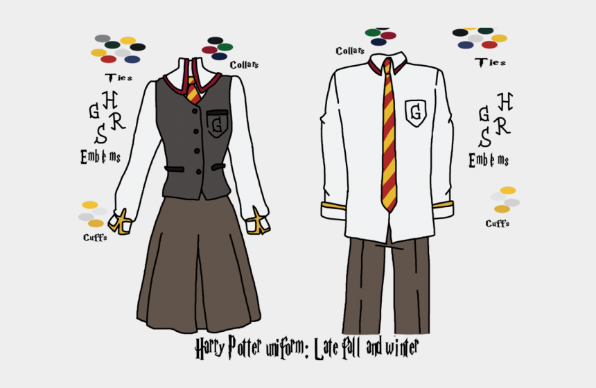 hogwarts clipart, Cartoons - Harry Potter Clipart Hogwarts Student - Harry Potter Robe Drawing