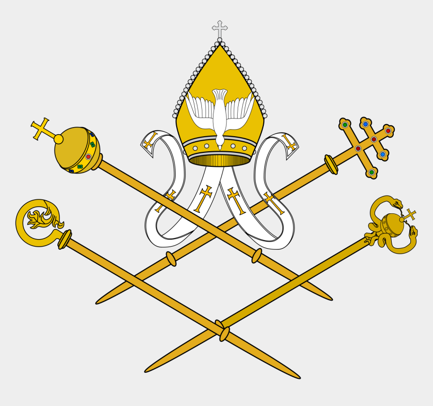 clipart painting, Cartoons - Armenian Catholic Church - Coats Of Arms Of The Holy See