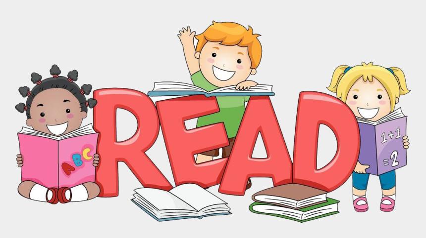 learn clipart, Cartoons - Boy Reading A Book Clipart - Book Children Reading