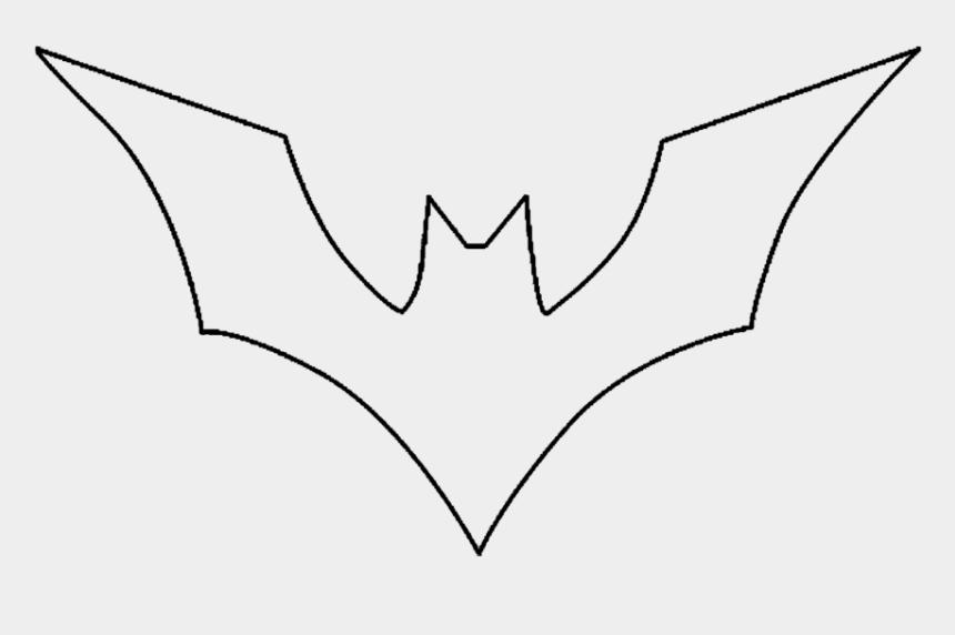 pumpkin outline clipart black and white, Cartoons - Batman Outline Batman Logo Outline Group Png - Sketch