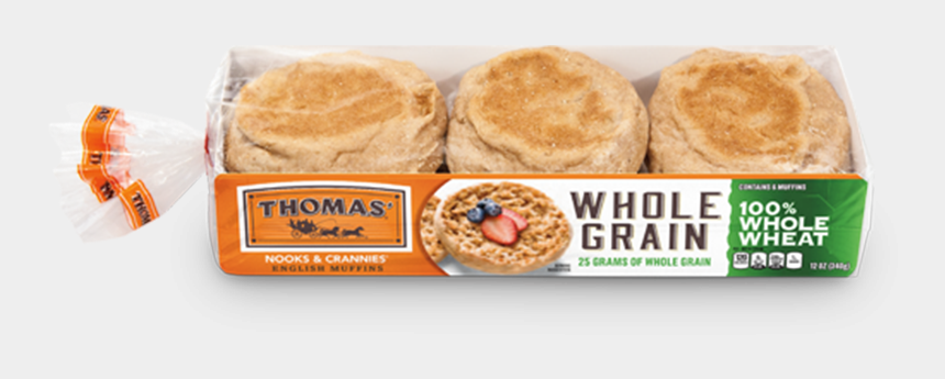 appetizers clipart, Cartoons - Thomas 100% Whole Wheat English Muffins Package - 100 Calorie Whole Wheat English Muffin