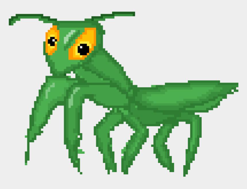 praying mantis clipart, Cartoons - Praying Mantis Sprite - Portable Network Graphics