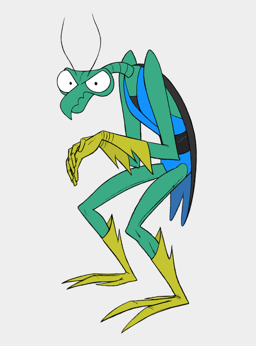 praying mantis clipart, Cartoons - Zorak Is One Of The Main Antagonists Of The Space Ghost - Zorak Png