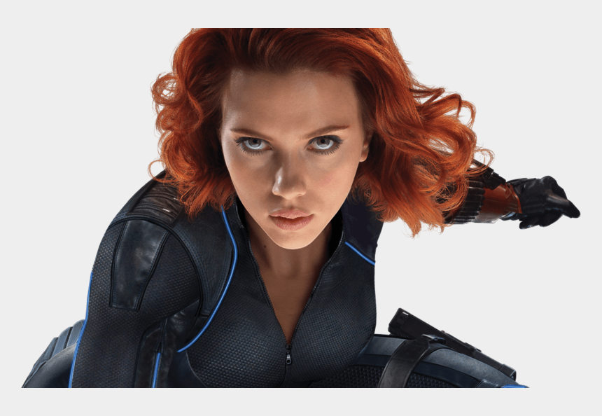 black widow clipart, Cartoons - Image Black Widow Scarlett - Avengers Endgame Black Widow Hair