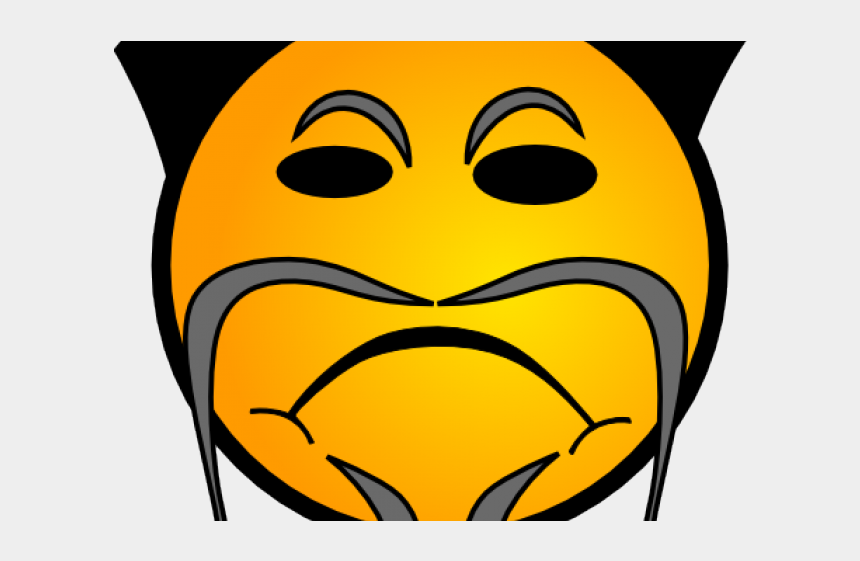 Sad Emoji Clipart Large - Chinese Smiley Png, Cliparts