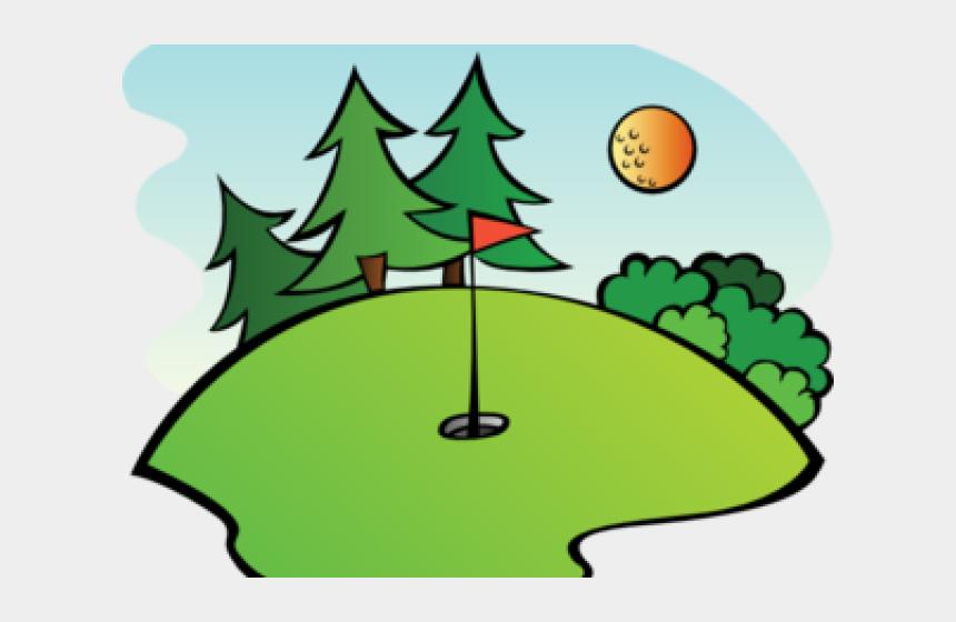 club clipart, Cartoons - Cartoon Golf Clip Art