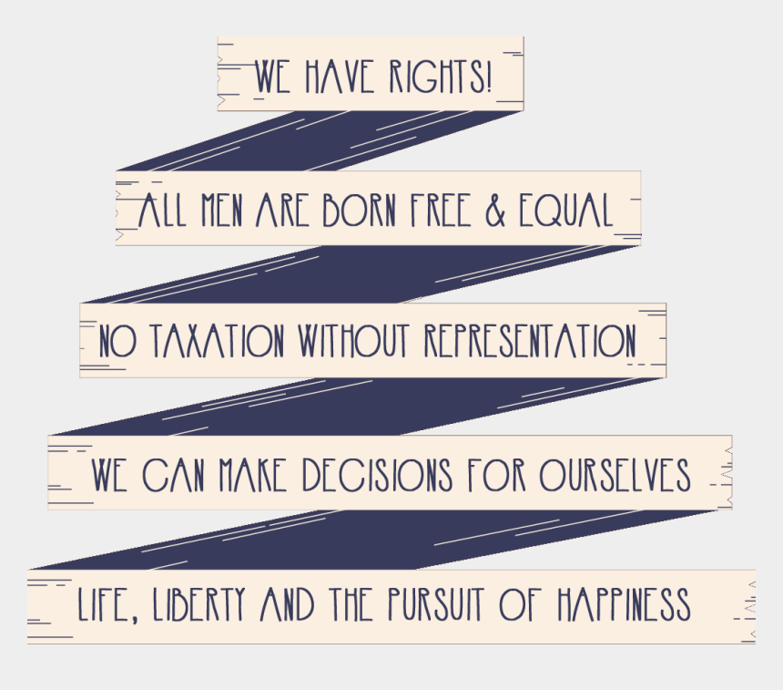 magna carta clipart, Cartoons - We Have Rights, All Men Are Born Free And Equal - All Humans Have Rights
