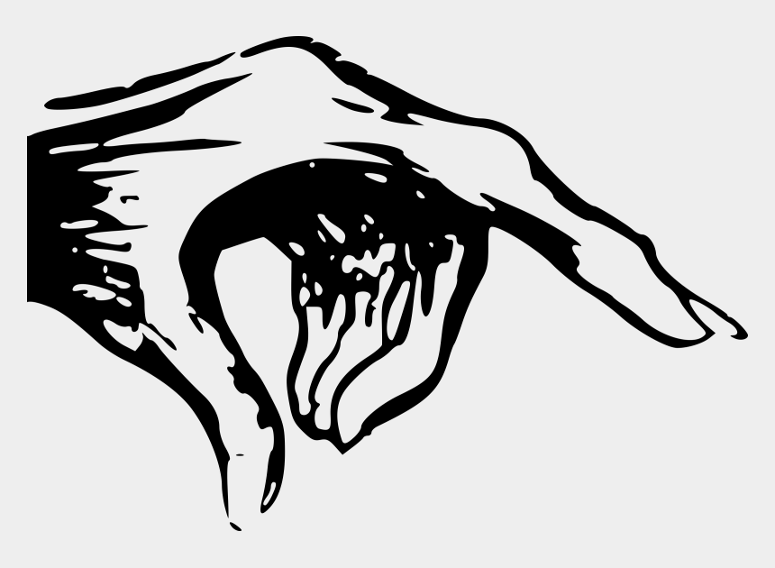 pointing at me clipart, Cartoons - Hand Clipart Monster - Creepy Pointing Hand Drawing