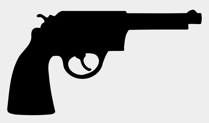 ak47 clipart, Cartoons - Clipart Of Trigger - Revolver Gun Clipart