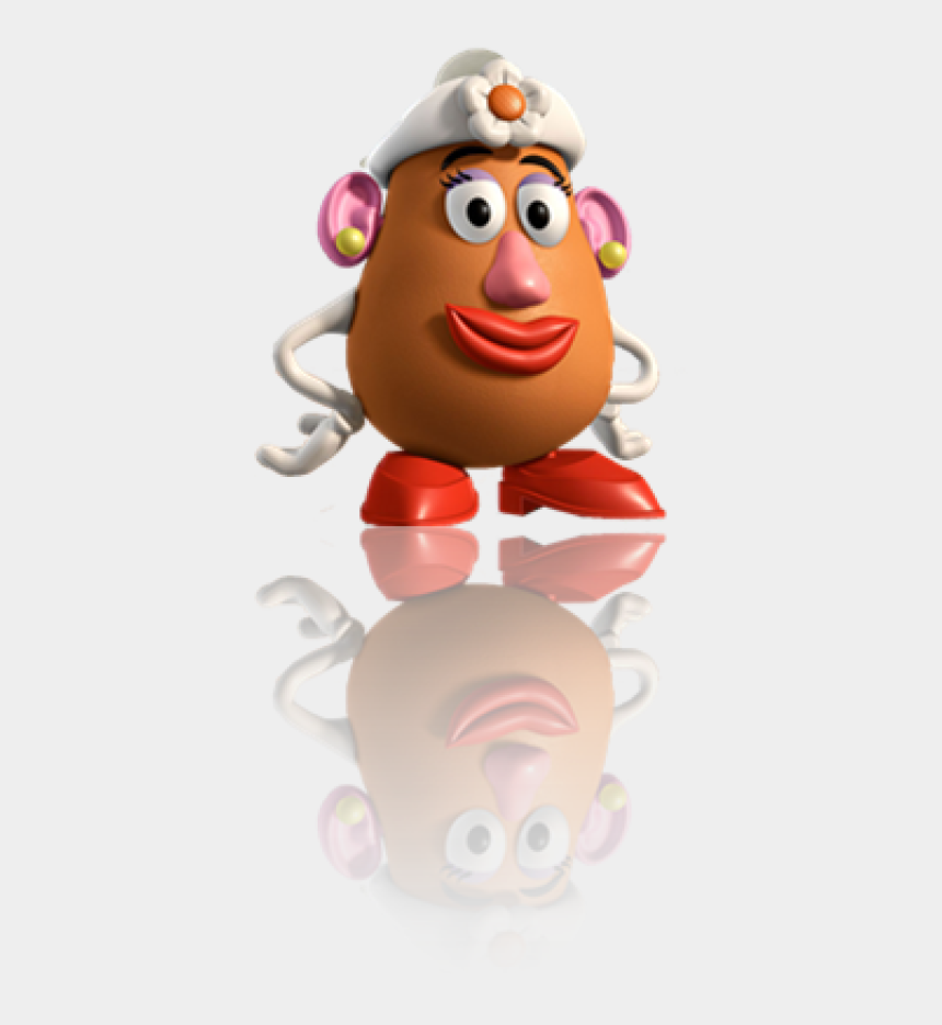 mr and mrs claus clipart, Cartoons - Mrs Potato Head Reflection By - Miss Potato Toy Story