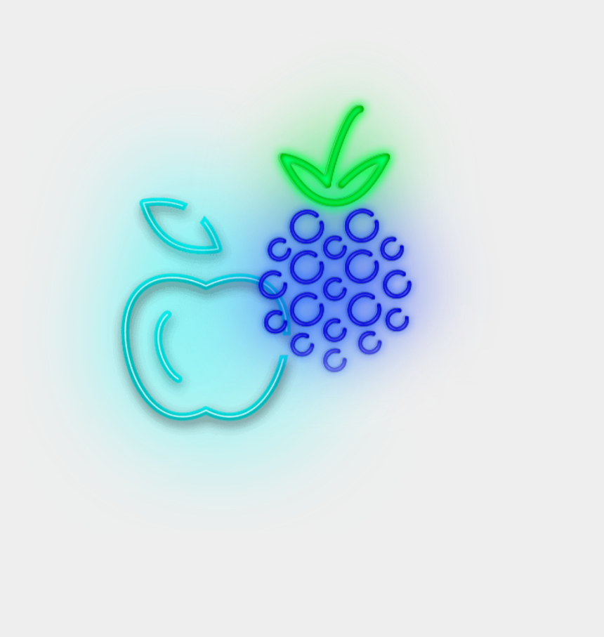 blackberries clipart, Cartoons - #mq #fruit #blackberry #apple #blue #neon - Circle