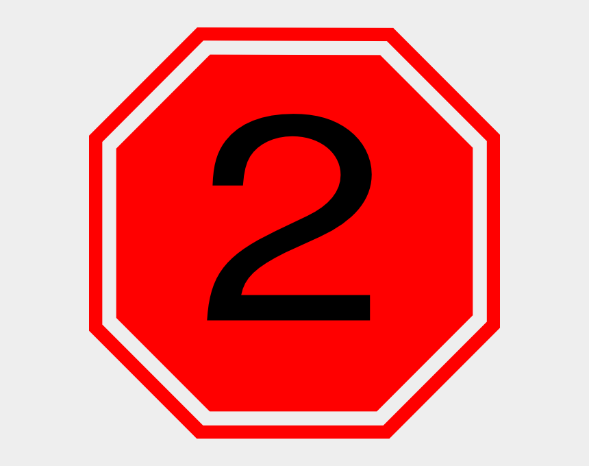 clipart stop sign, Cartoons - Stop Sign With 2