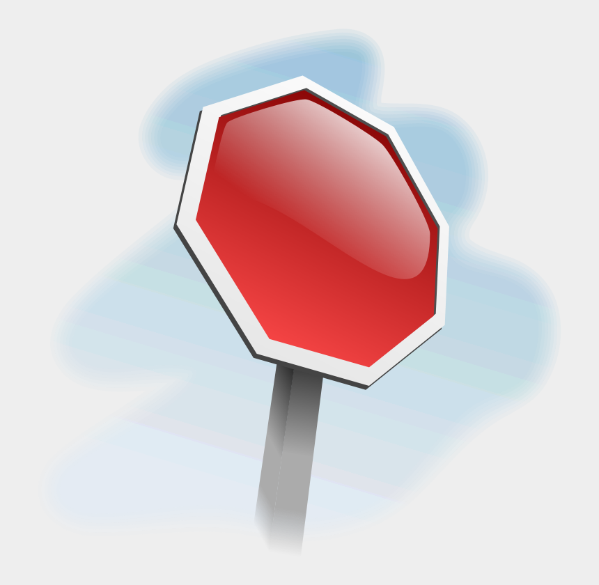 clipart stop sign, Cartoons - 3rd Party Car Accident