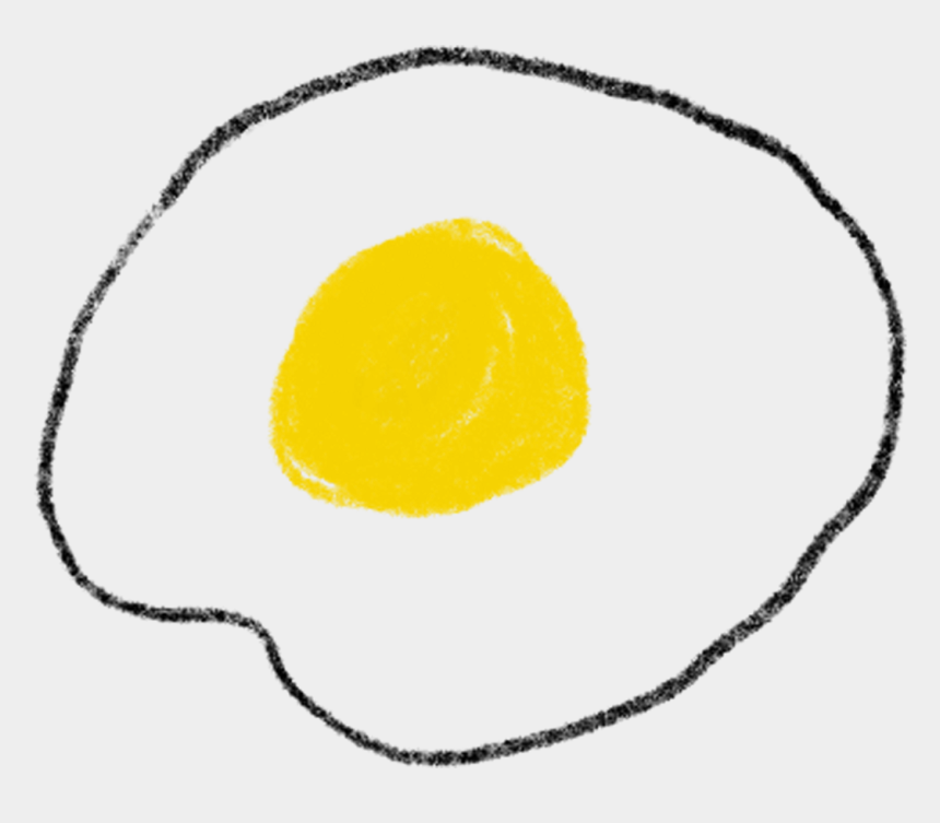 fried egg clipart, Cartoons - Egg Yolk Png - Drawing