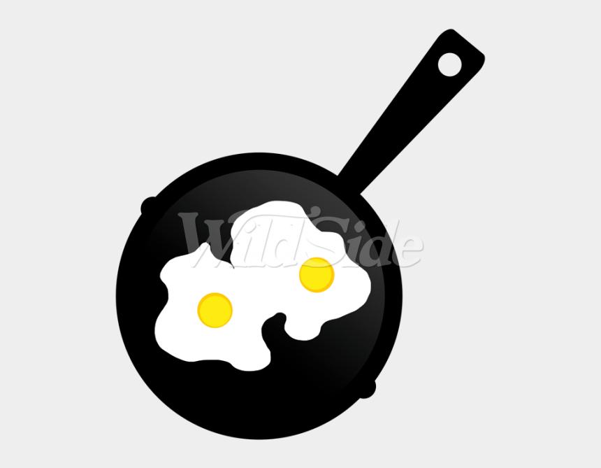 fried egg clipart, Cartoons - Pan Of Fried Eggs - Fried Egg